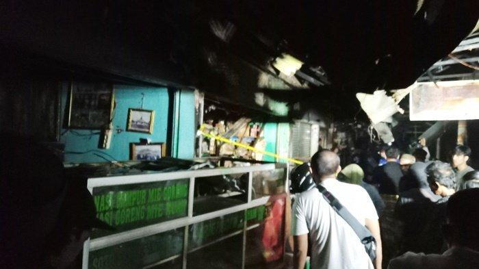 Kebakaran di Kalsel, Dua Toko di Kawasan Pasar Batuah Martapura Hangus