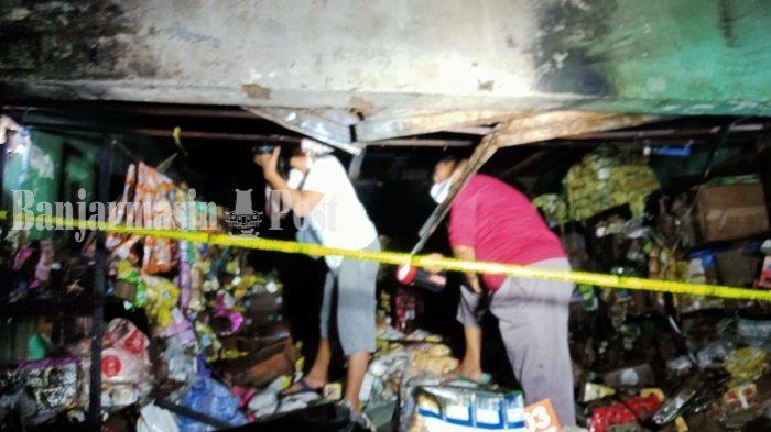 Kebakaran di Kalsel, Para Pedagang Pasar Batuah Martapura Tak Jadi Evakuasi Barang