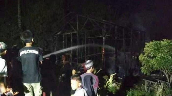 60 Karung Beras dan 400 Blek Padi Ikut Dilahap si Jago Merah di Desa Bahungin Kelua