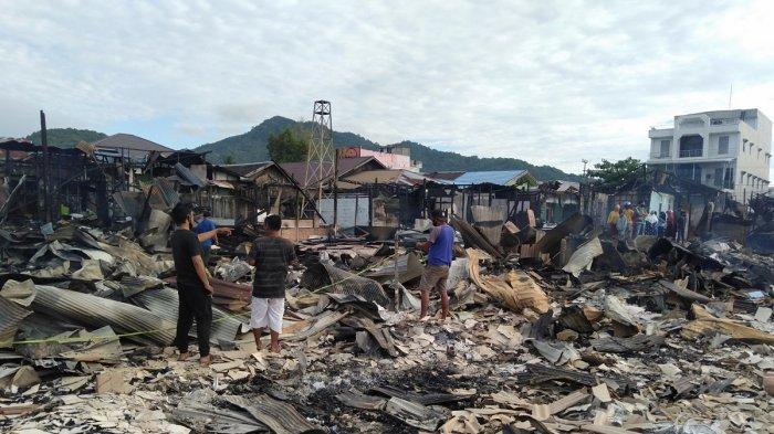 Sehari Pasca Kebakaran di Kotabaru, Sekda Sebut Akan Rapat Senin Besok