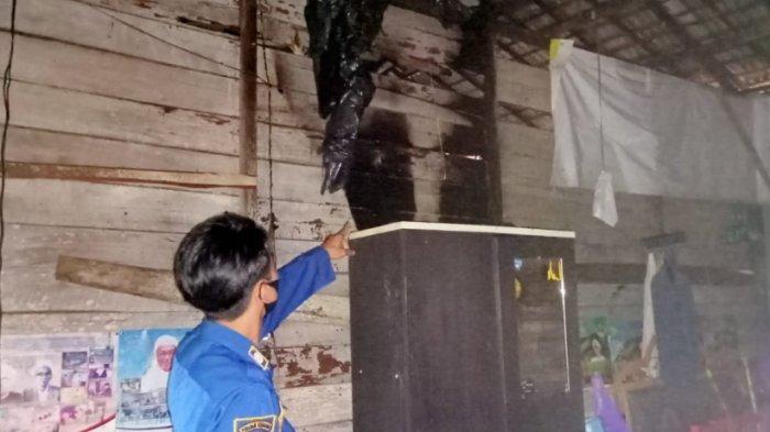Kebakaran Kalsel, Bedakan Tiga Pintu Milik Yusuf di Sekumpul Terbakar