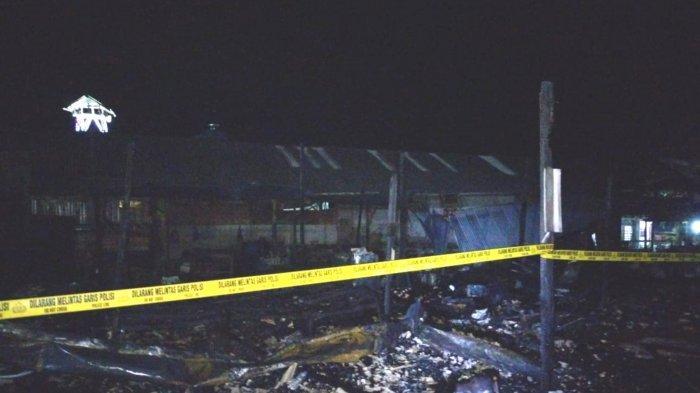 Kebakaran Kalsel, Belasan Kios di Tegalrejo Kotabaru Ludes, Kerugian Capai Rp200 Juta