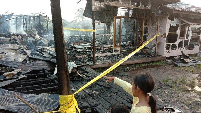 Pemilik Barak Minta Polisi Ungkap Penyebab Kebakaran di Palangkaraya, Sekolah SMP & SMA Ikut Hangus