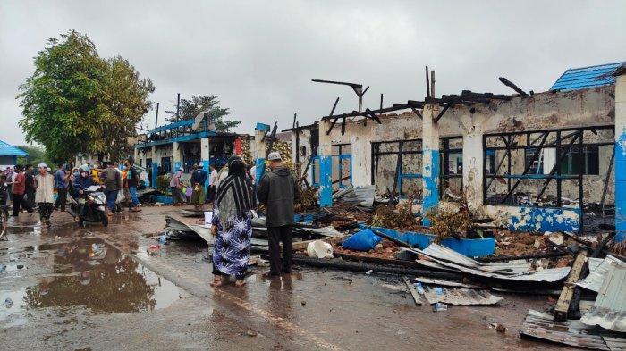 Kebakaran Ponpes Al Falah Banjarbaru, Besarnya Kobaran Api Membuat Santri Tak Bisa Selamatkan Barang