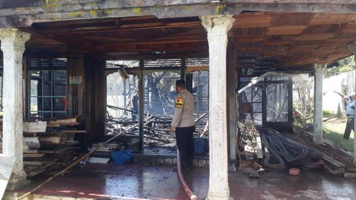 Kebakaran di Kalsel, Api Berkobar di Rumah Kosong Warga Muara Uya Tabalong