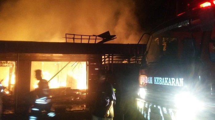 Kabakaran di Mataraman Ludeskan 7 Rumah, Berikut Nama Korban Penghuni Rumah yang Terbakar