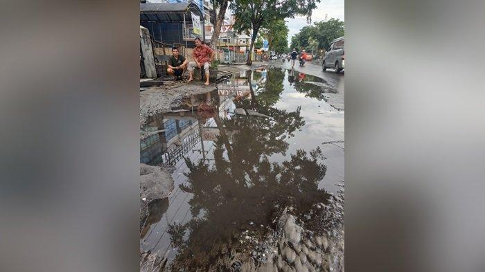Pipa PDAM Bocor di A Yani Km1 Banjarmasin, Wilayah S Parman-Kayutangi Kena Dampak Gangguan Air