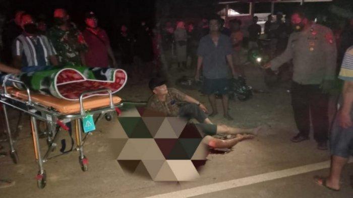 Kecelakaan Kalteng, Pemotor Tewas di Tengah Jalan Diduga Korban Tabrakan dengan Truk CPO