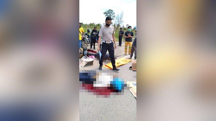 Pesepeda Motor Terlindas Truk di Gubernur Syarkawi, Sopir Ditangkap Polres Batola