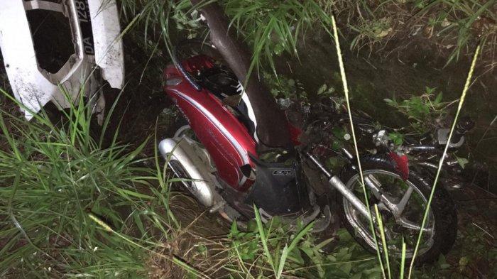 Nyunsep ke Got, Kecelakaan Lalulintas Roda Dua dengan Empat Tewaskan Pengemudi Motor