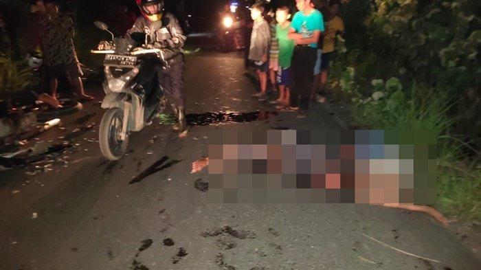 Kecelakaaan di Desa Purwosari Tamban Kabupaten Batola, 4 Korban Dibawa ke Rumah Sakit dan Puskesmas
