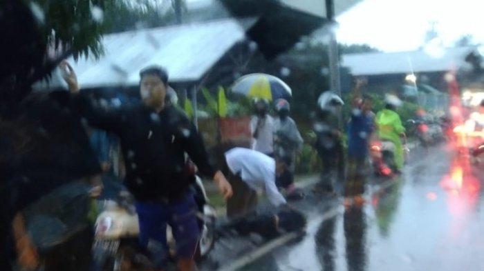 Satu Hari Dua Nyawa Melayang di Pajukungan HST, Setelah Pejalan Kaki, Pengendara Tewas Ditabrak