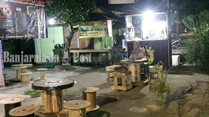 Jalan-jalan ke Retro Drink, Alternatif Tempat Nongkrong di Banjarmasin
