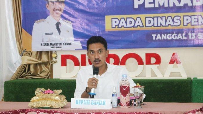 Antisipasi Bencana, Bupati Banjar Saidi Mansyur Minta Dinas Intens Koordinasi BMKG