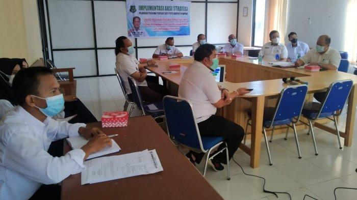 Kapuas Siapkan Implementasi Aksi Strategi Pelayanan Perijinan Terpadu Satu Pintu
