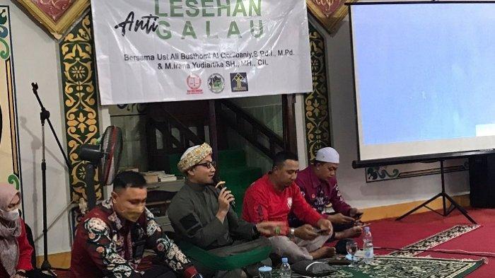 Rutan Tanjung Tabalong Gelar Lesehan Anti Galau, Diisi Penyuluhan Hukum dan Tausiyah
