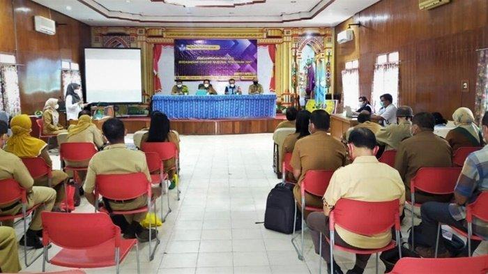 Kepsek di Kabupaten Kapuas Ikut Pendampingan Fasilitasi Standar Nasional Pendidikan