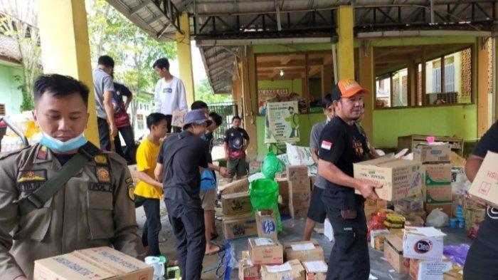 Balakar 654 Murakata Siap Saluran Seribu Paket Sembako Korban Banjir di Kalteng