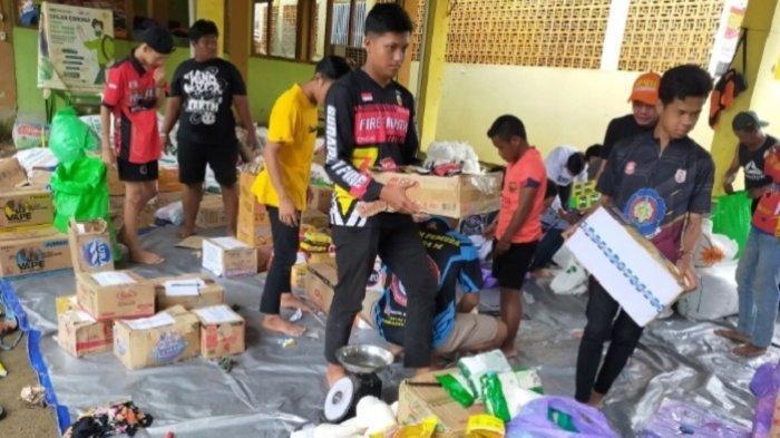 Relawan HST Terjun Galang Dana, Seribu Paket Sembako Siap Disalurkan untuk Korban Banjir Kalteng