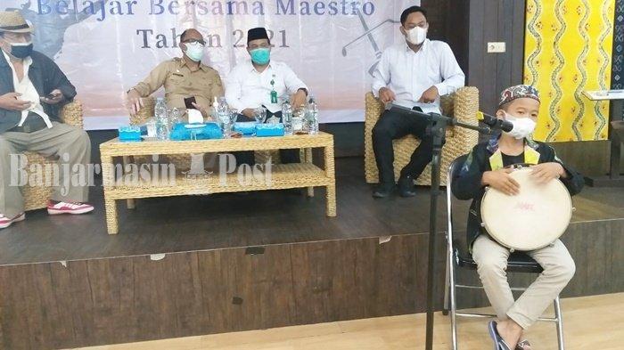 Belajar Bersama Maestro Madihin Digelar Kemendibud RI dan Disbudpar Banjarmasin