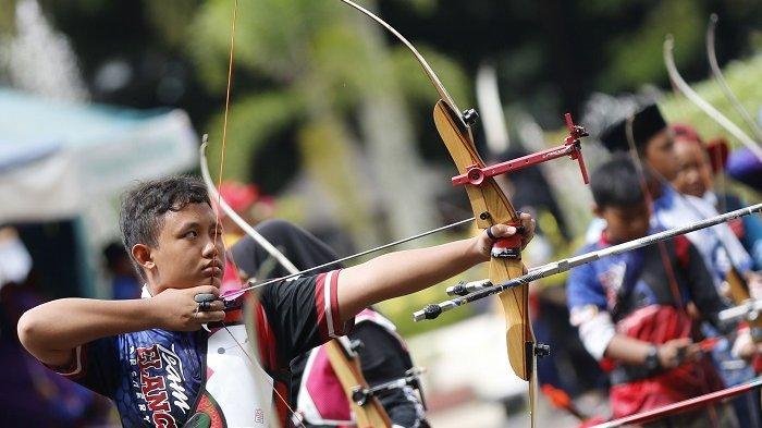 Katagori SD dan SMP Sudah Dipertandingkan di Borneo Open V 2019 Archery For Nationality
