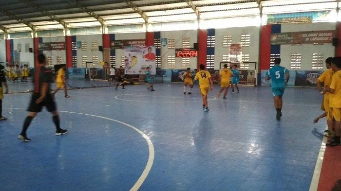 ABTI Kalsel Gelar Kejuaraan Handball Pertama di Kalsel, SMAN 3 Batola Kampiun