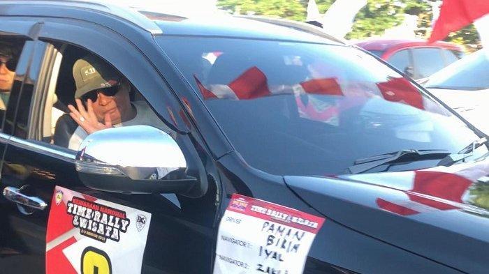 Kemudikan Pajero Sport, Paman Birin Kobarkan Semangat Merah Putih Time Rally 2019