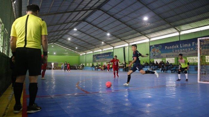 Sapu Bersih Laga dengan Kemenangan, Tim Futsal Putra Kabupaten Banjar Juara Grup C Kejurprov 2021