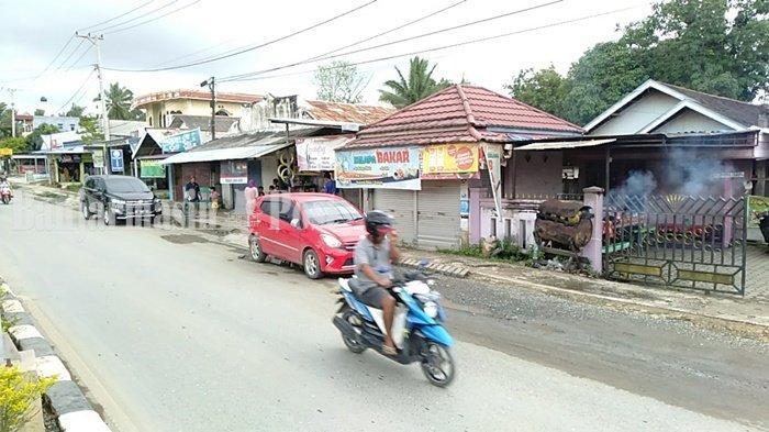Kuliner Kalsel, Usaha Kelapa Bakar Plajau Kabupaten Tanbu Pun Terdampak Pandemi