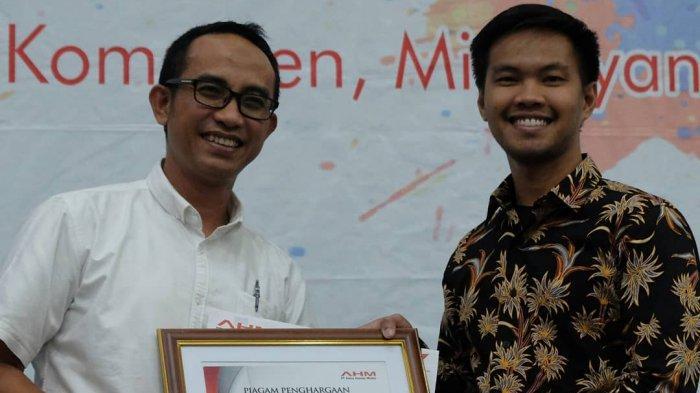 Kelas Difabel Trio Motor Raih Pengharagaan CSR Terbaik Main Dealer Honda se Indonesia