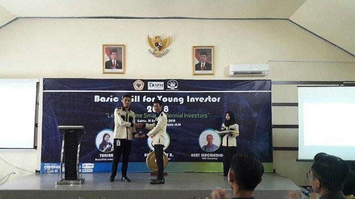 Buka Wawasan Mahasiswa Lewat Sosialisasi Pasar Modal, Let's Become Millennial Investor
