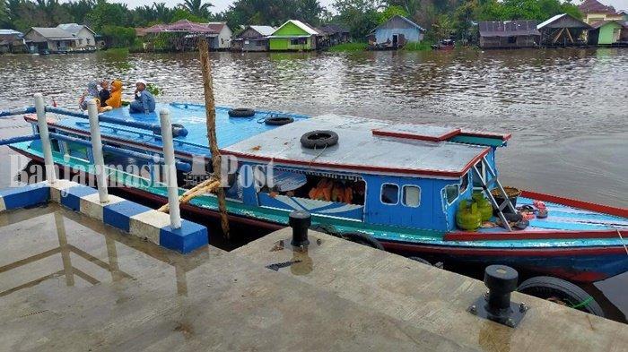 Wisata Kalsel, Dermaga Kelotok di Sungai Lulut Banjarmasin Bagus untuk Swafoto