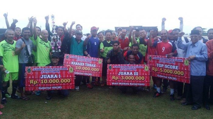 Tim Sepakbola Kelurahan Kuin Cerucuk Wakil Banjarmasin ke Tingkat Provinsi