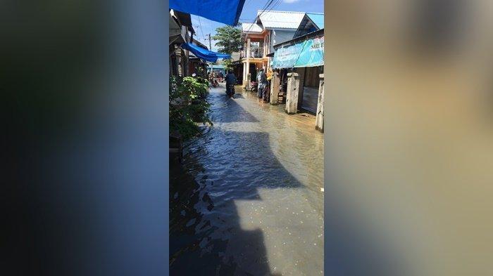 Banjir Rendam 22 Daerah di Wilayah Kecamatan Martapura Kabupaten Banjar
