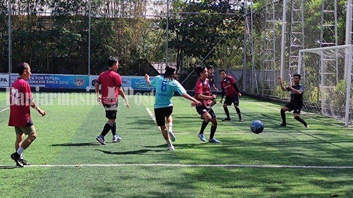 Perset FC Taklukkan BPost FC Dalam Laga Persahabatan di Upik Mini Soccer Banjarmasin