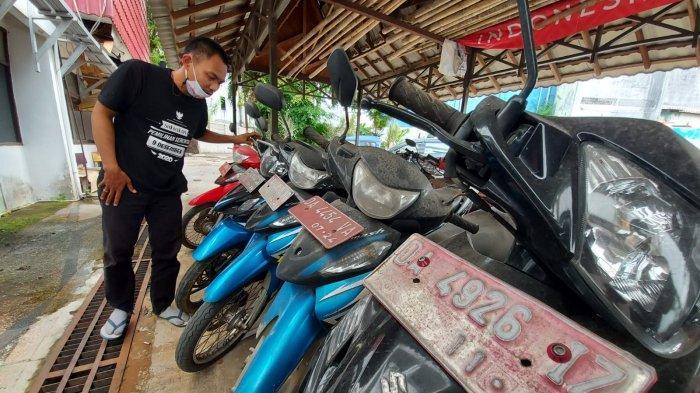 Puluhan Kendaraan Aset Pemko Banjarmasin Dilelang