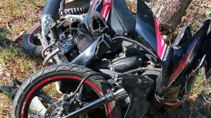 Kecelakaan Kalsel, Tabrak Bagian Belakang Mobil Tangki di Gambut, Pengendara Motor Terluka