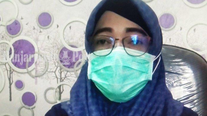 Kepala Bidang Pencegahan dan Pengendalian Penyakit Dinas Kesehatan Kabupaten Tapin, Nurul Hidayah.