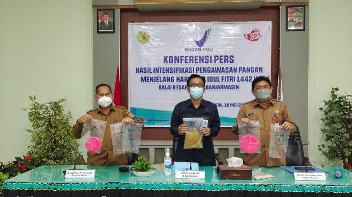 Geber Pengawasan Pangan Selama Ramadan 2021, BBPOM di Banjarmasin Beberkan Hasil Temuan Ini