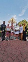 2 Sekolah di Binuang Tapin Raih Penghargaan Adiwiyata Nasional dan Adiwyata Mandiri 2019