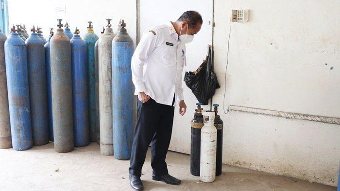 Kepala Dinas Perdagangan Kalsel Birhasani Tindaklanjuti Info Kenaikan Harga Tabung Oksigen