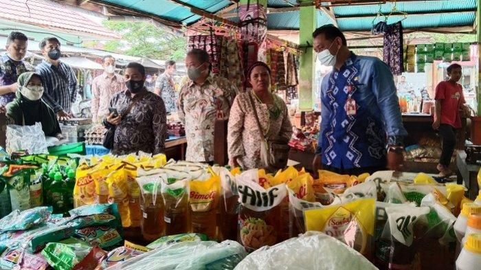 Jelang Ramadhan 1442 H, Dinas Perdagangan Tapin Gelar Operasi Pasar