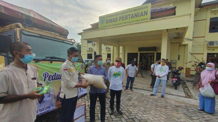 Dinas Pertanian Balangan Bantu Petani, Berikan Benih dan Jagung Pasca Banjir