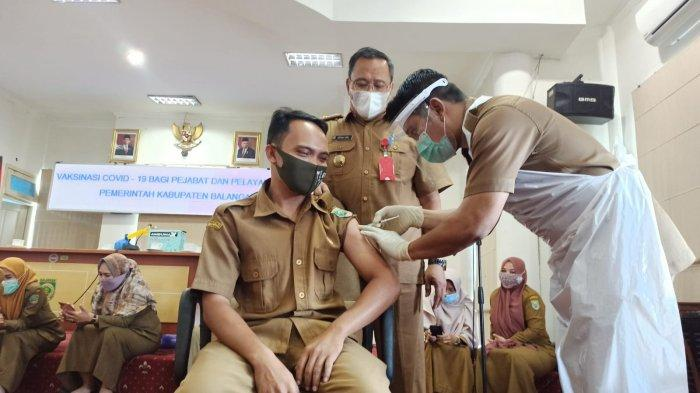Wabah Corona Kalsel, Pemberian Vaksin Covid-19 Terus Berlangsung, Dinkes Balangan Bakal Sasar Lansia