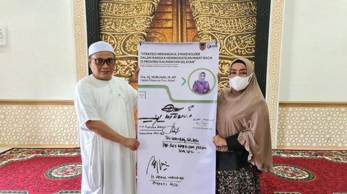 IPL Tertinggi se-Indonesia, Dispersip Kalsel Persembahkan 'SMS Dara Mengaca' Kado Hari Jadi Provinsi