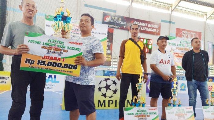 Tundukan All Star Banjarbaru 4-0, All Star Kalsel  Jawara Futsal Legend Paman Birin 2019
