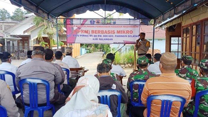 Tujuh Desa di Kabupaten Balangan Mulai Berlakukan PPKM Berbasis Mikro