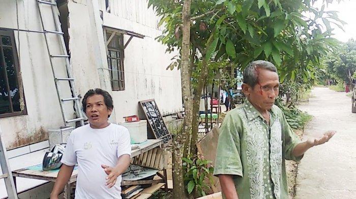 Rumah Nyaris Ambruk di Sungailulut Kabupaten Banjar, Pemilik Bangunan Menduga karena Kesalahan ini