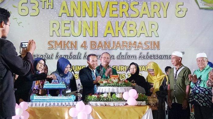 Gemilang 63 Tahun Anniversary & Reuni Akbar SMKN 4 Banjarmasin