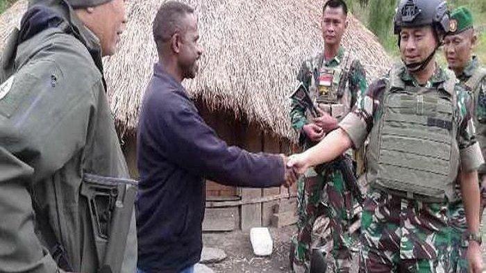 Dua Prajurit TNI Gugur Ditembak KKSB di Puncak Jaya Papua, Diadang Saat Salurkan Bantuan ke Warga